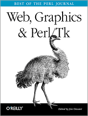 Cover image for Web, Graphics & Perl/Tk