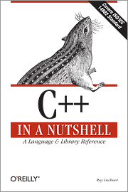 Cover image for C++ in a Nutshell