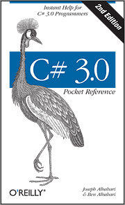 Cover image for C# 3.0 Pocket Reference