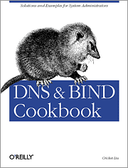 Cover image for DNS and BIND Cookbook