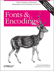 Cover image for Fonts and Encodings