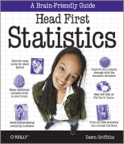 Cover image for Head First Stats