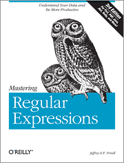 Cover image for Mastering Regular Expressions