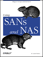 Cover image for Using SANs and NAS